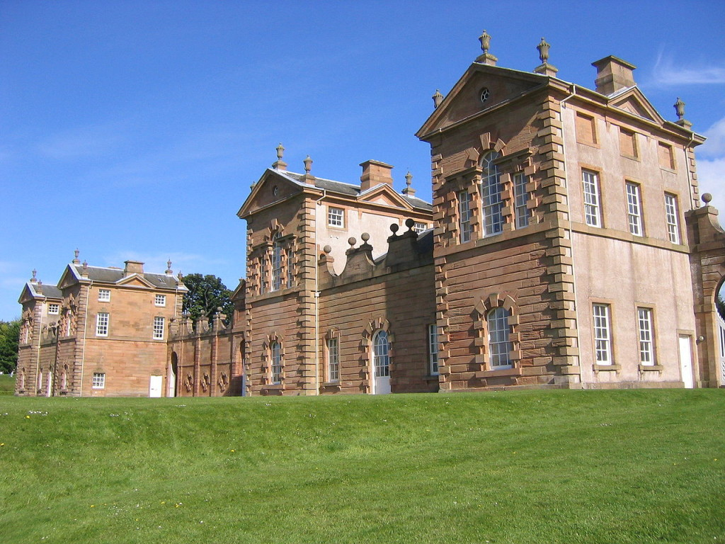 Duke of Hamilton's 18th-century hunting lodge, Chatelherault Country Park, Image ©AlistairMcMillan