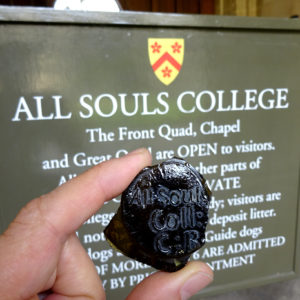 All Souls seal and College sign