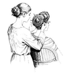 Roman hairstyle